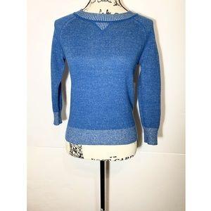 BB Dakota Cropped Pullover Sweater